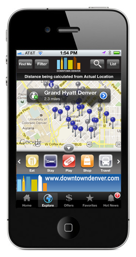 Downtown Denver iPhone App