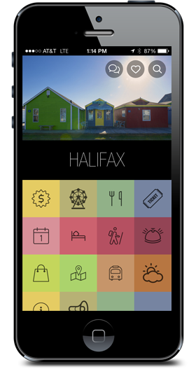 Destination Halifax iPhone App