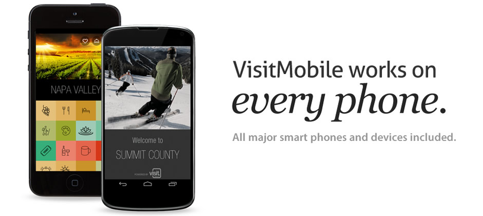 VisitMobile works on every phone.
