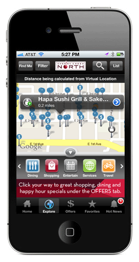 Cherry Creek North iPhone App