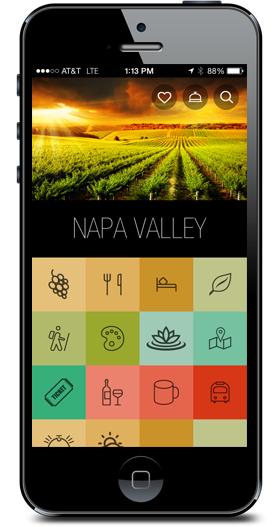 Visit Napa Valley iPhone App